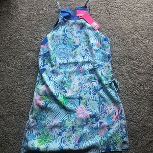 Lilly Pulitzer Pearl Romper Size 8 NWT